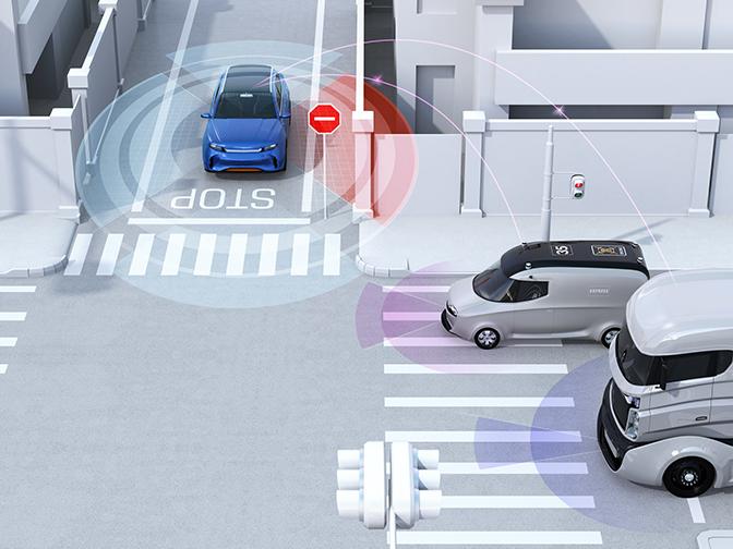大きな鍵を握る自動運転技術